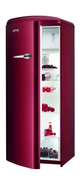 Chladnička 1dv. Gorenje RB 60299 ORL červená