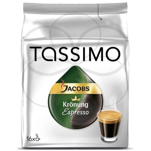 Kapsle Jacobs Krönung Espresso 118,4 g Tassimo