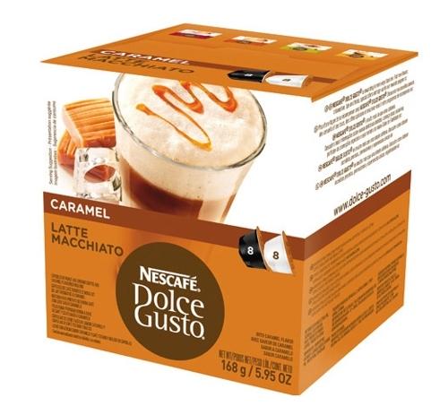 Kapsle NESCAFÉ Latte macchiato caramel 16 ks k Dolce Gusto