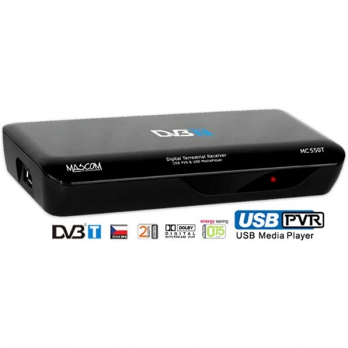 DVB-T přijímač Mascom MC550T USBPVR
