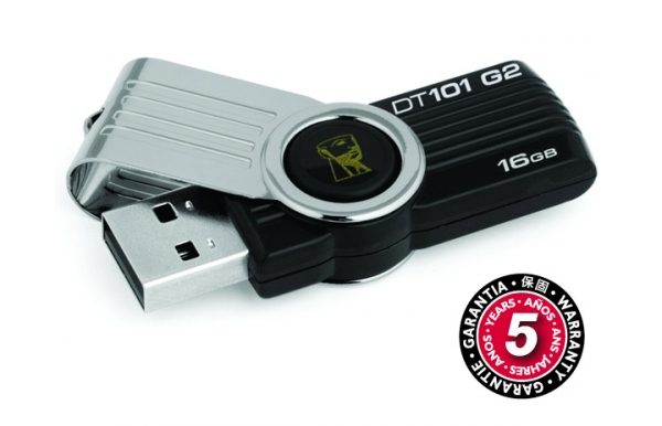 Flash USB Kingston DataTraveler 101 16GB USB 2.0 - černý