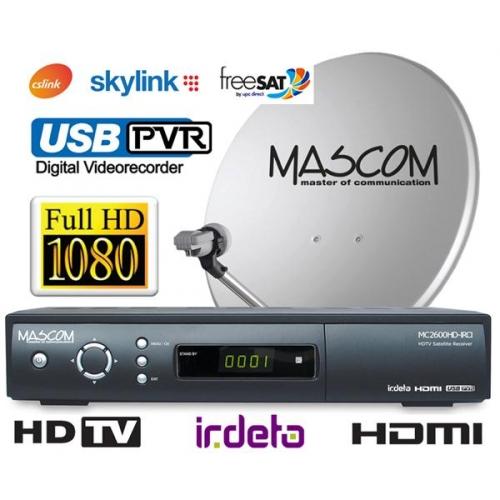 Satelitní komplet Mascom MC2600/60