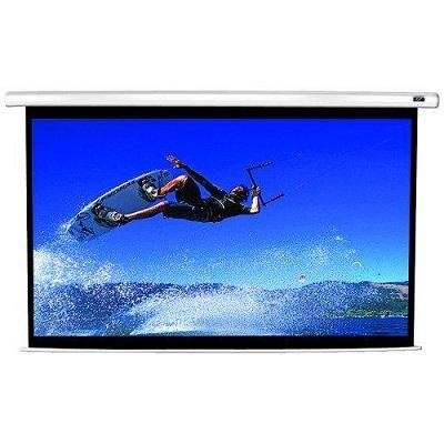 "Plátno Elite Screens VMAX2 150"", 16:9, El. pohon, roleta - bílé"