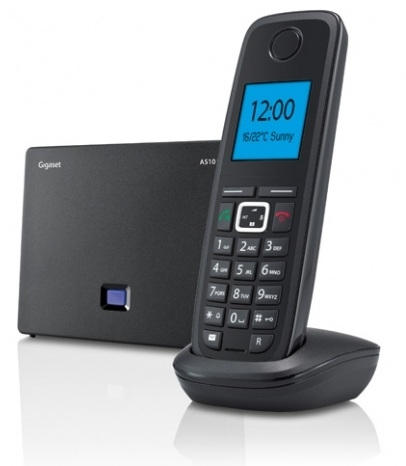 Domácí telefon Siemens Gigaset A510 IP - černý