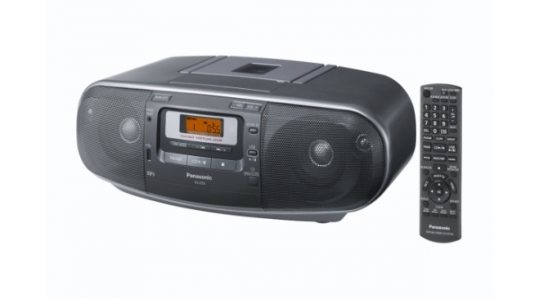 Radiomagnetofon Panasonic RX-D55AEG-K, s CD/MP3