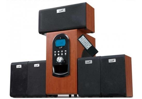 Reproduktory Genius SW-HF 6000 5.1 - imitace dřeva