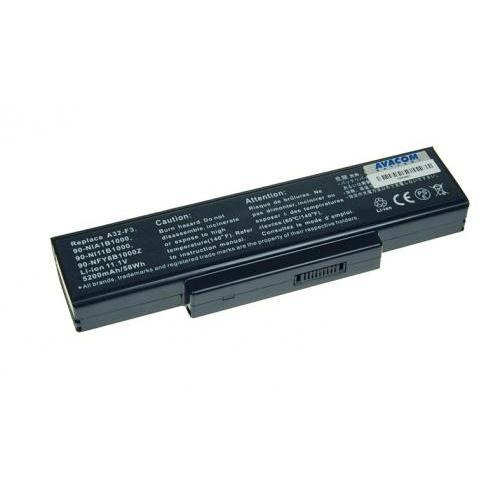 Baterie Avacom pro Asus F2 series, F3U/F3P/F3SR Li-Ion 11,1V 5200mAh