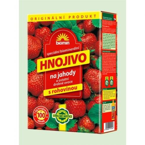 Hnojivo Forestina Biomin na jahody, 2,5 kg