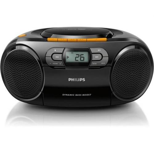 Radiomagnetofon s CD Philips AZ328