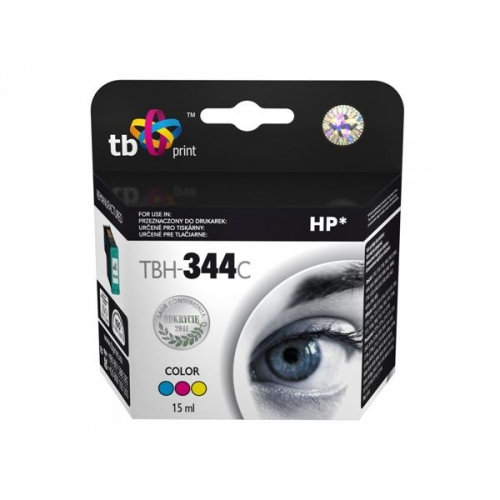 Inkoustová náplň TB HP C9363EE (No.344) Color kompatibilní - červená/modrá/žlutá