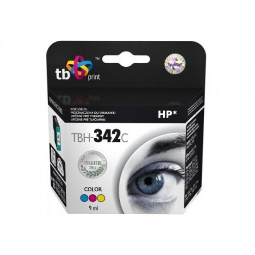 Inkoustová náplň TB HP C9361EE (No.342) Color kompatibilní - červená/modrá/žlutá