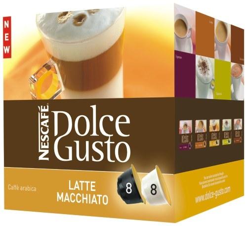 Kapsle NESCAFÉ Latte Macchiatto 16 ks k Dolce Gusto