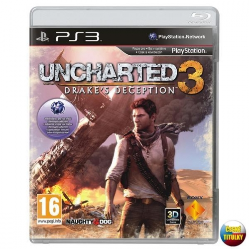 Hra Sony PlayStation 3 Uncharted 3: Drake's Deception
