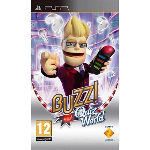 Hra Sony PSP Buzz! Quiz CZ (Essentials)
