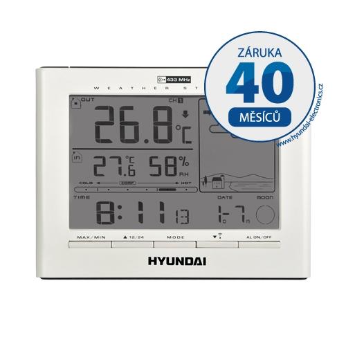 Meteostanice Hyundai WSC 2180, bílá