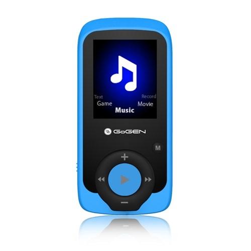 MP3/MP4 přehrávač GoGEN MAXI MP3, 4GB, modrý
