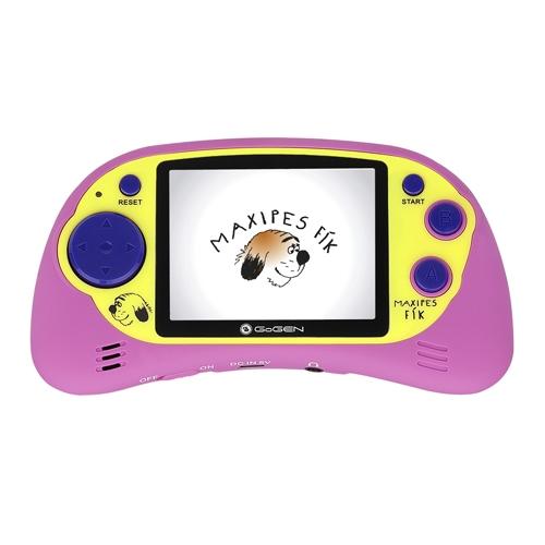 """Kapesní hra GoGEN MAXI HRY 150 P, 2,7"""" LCD displej, 150 her, růžová"""