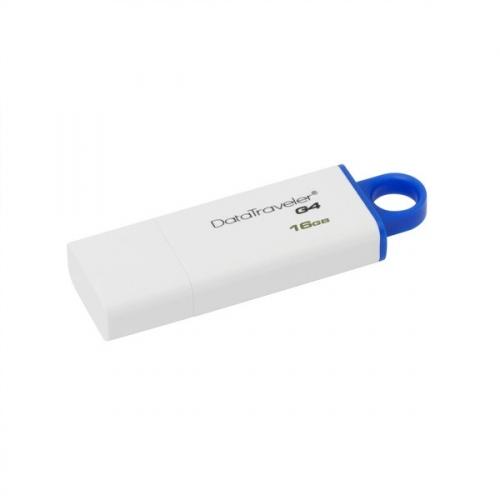 Flash USB Kingston DataTraveler G4 16GB USB 3.0 - modrý