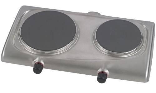 Elektrický vařič ETA 3119 90010 matný nerez, dvouplotnový