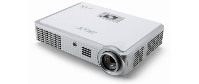 Projektor Acer K335 DLP, WXGA, 3D, 4:3,