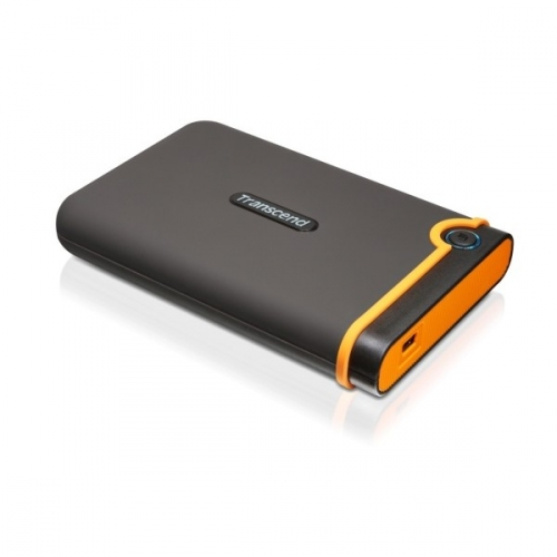 "HDD ext. 2,5"" Transcend StoreJet 25M2 500 GB - černý/oranžový"