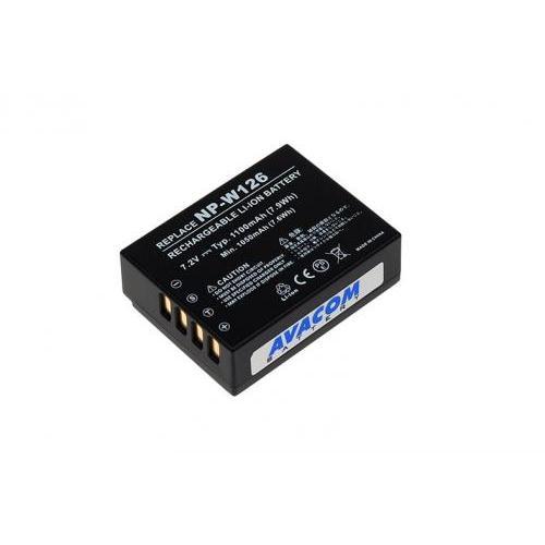 Baterie Avacom pro Fujifilm NP-W126 Li-Ion 7.2V 1100mAh