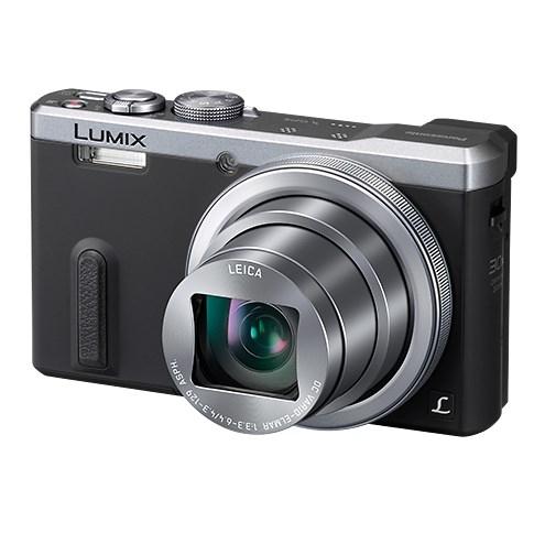Fotoaparát Panasonic DMC-TZ60EP-S, stříbrný