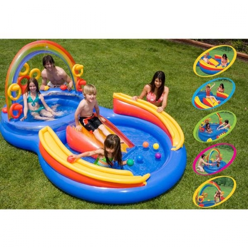 Bazénové hrací centrum Intex Duha