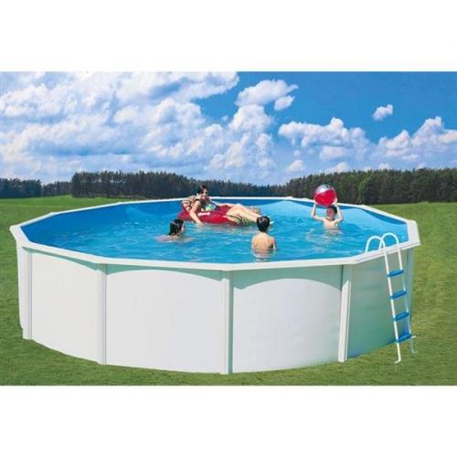 Bazén Steinbach Nuovo de Luxe 5,5 x 1,2 m s kovovou konstrukcí vč. pískové filtrace Classic 400, 6,6m3/hod