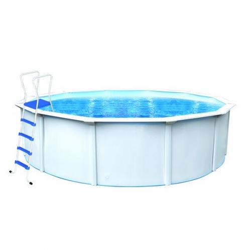 Bazén Steinbach 4,5x1,2 m s kovovou konstrukcí vč. pískové filtrace Clean, 3,8 m3/h