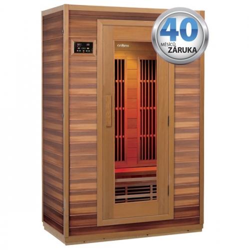 Infra sauna (2 ČÁSTI) Goddess Mallorca2 s ionizérem, cedr