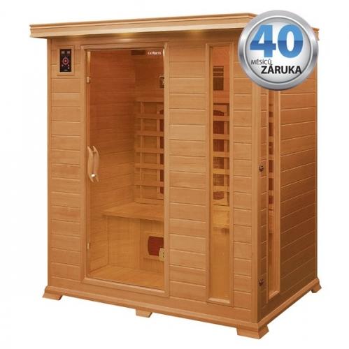 Infra sauna (3 ČÁSTI) Goddess Grancanaria3 s ionizérem