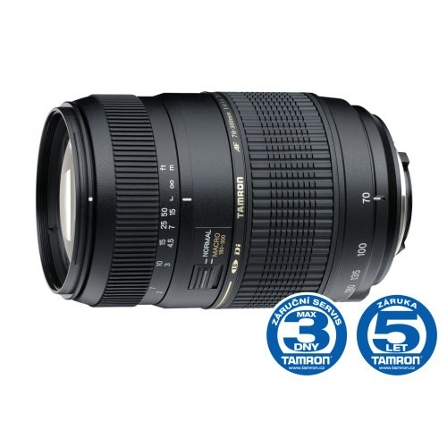 Objektiv Tamron AF 70-300mm F/4-5.6 Di LD Macro 1:2 pro Nikon