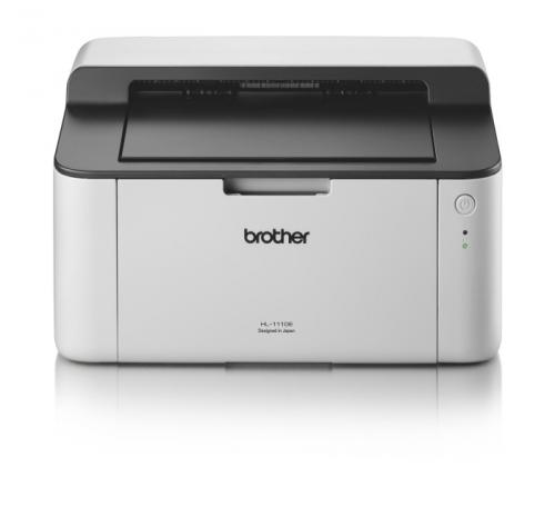 Tiskárna laserová Brother HL-1110E A4, 20str./min, 2400 x 600, 1 MB, USB