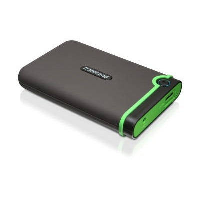 """HDD ext. 2,5"""" Transcend StoreJet 25M3 2TB - šedý/zelený"""