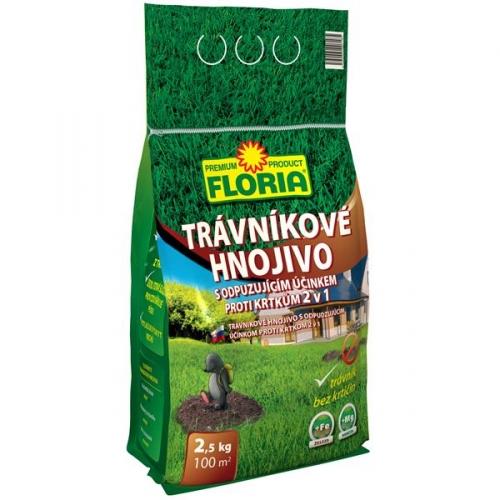 Hnojivo Agro FLORIA s odpuzujícím účinkem proti krtkům 2,5kg -NOVINKA*