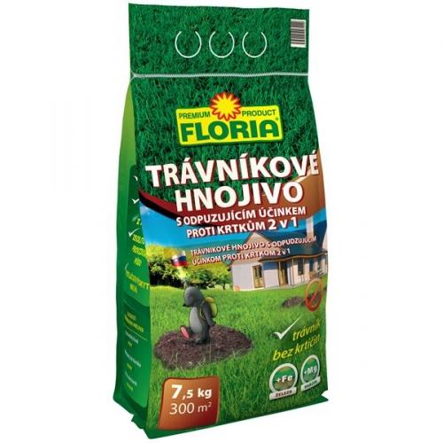 Hnojivo Agro FLORIA s odpuzujícím účinkem proti krtkům 7,5kg -NOVINKA*