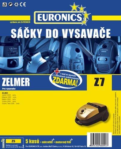 Filtr Jolly Z 7 (5ks) do vysav. ZELMER Magnat 3000, Jupiter 4000, Maxim 3000, Solaris 5000