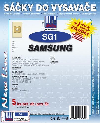 Filtr Jolly SG 1 (5+1ks) do vysav. SAMSUNG