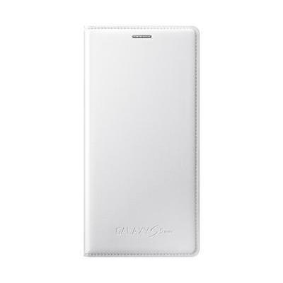 Pouzdro na mobil flipové Samsung pro Galaxy S5 mini (EF-FG800BW) - bílé