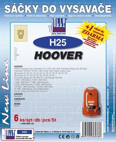 Filtr Jolly H 25 (6+1ks) do vysav. HOOVER