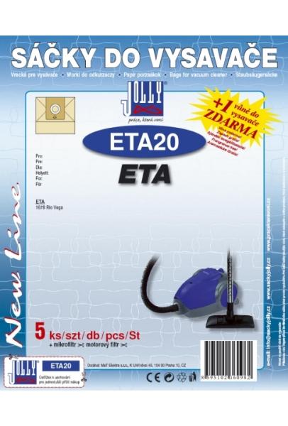 Filtr Jolly ETA 20 (5ks) do vysav. ETA