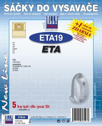 Filtr Jolly ETA 19 (5ks) do vysav. ETA