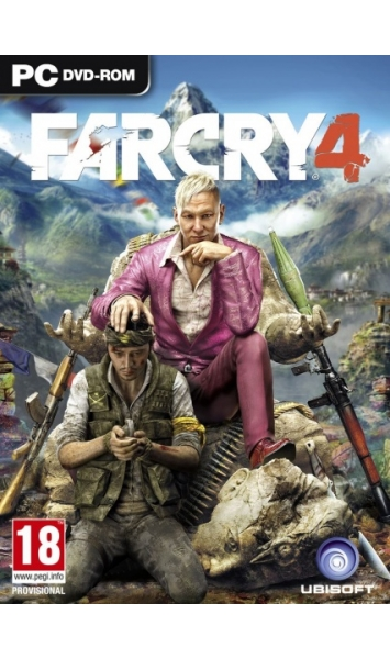 Hra Ubisoft PC Far Cry 4