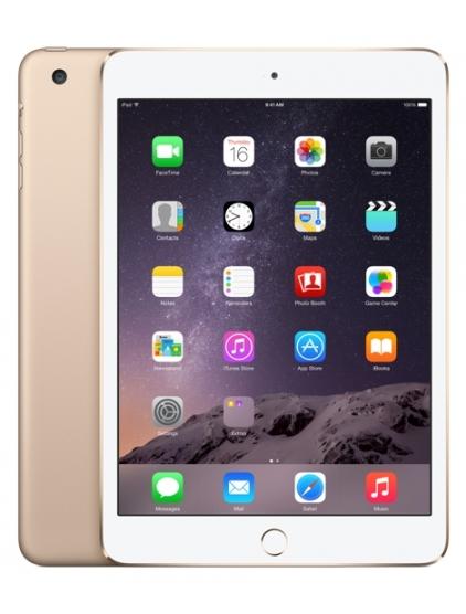 "Dotykový tablet Apple iPad mini 3 Cellular 16 GB 7.9"", 16 GB, WF, BT, 3G, Apple iOS - zlatý"