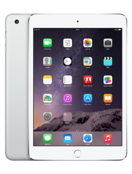 "Dotykový tablet Apple iPad mini 3 Cellular 16 GB 7.9"", 16 GB, WF, BT, 3G, Apple iOS - stříbrný"