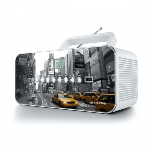 Radiopřijímač MUSE M-28 NY s CD/USB