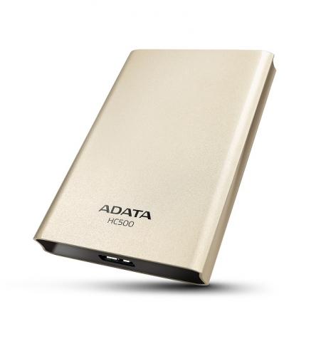 """HDD ext. 2,5"""" A-Data HC500 2TB - zlatý"""