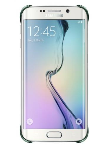 Kryt na mobil Samsung pro Galaxy S6 Edge (EF-QG925B) - zelený