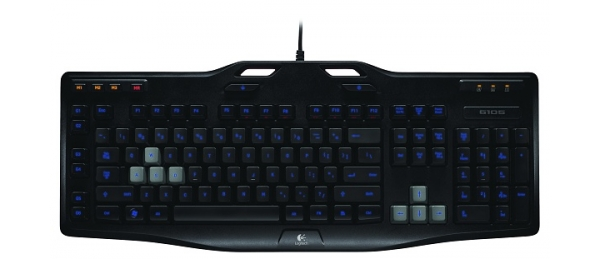 Klávesnice Logitech Gaming G105 - černá